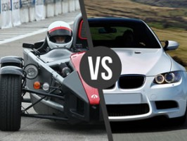 Ariel Atom vs. BMW BiTurbo Performance