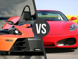 Ferrari F430 vs. KTM X BOW