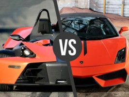 Lamborghini Gallardo vs. KTM X-BOW