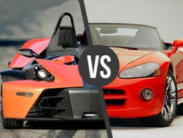 Dodge Viper vs. KTM X-BOW