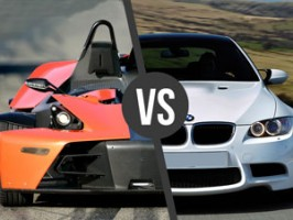 KTM X-BOW vs. BMW BiTurbo Performance