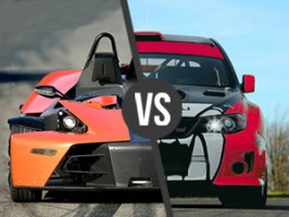 KTM X-BOW vs. Subaru STI Turbo