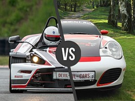 KTM X-BOW vs. Porsche 911 Carrera